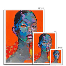 Load image into Gallery viewer, Lady 7 Portrait | Framed Wall Art for Bedroom | MGallery, Buy Framed Wall Art for Living room from MGallery. These are Digitally Printed Large Framed Wall Arts are with variety of wood frames.-Fine art-mgallery