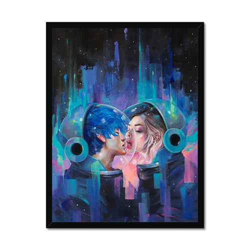 Spherical Love In The Void | Colourful Face Art | Mgallery, Bring a unique design to your home with Colourful Face Art prints with variety of sizes! Shop our unique collection of beautiful Face Art prints.-mgallery