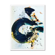 Load image into Gallery viewer, 'Indigo Calligraphy' by Andrea Ehret Framed Print