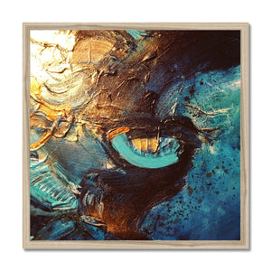 'Third Eye' by Andrea Ehret Framed Print