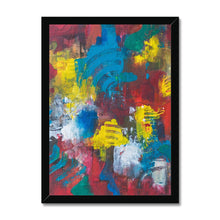 Load image into Gallery viewer, 'Unfolding Passion' by Kawsar Ahmed Framed Print