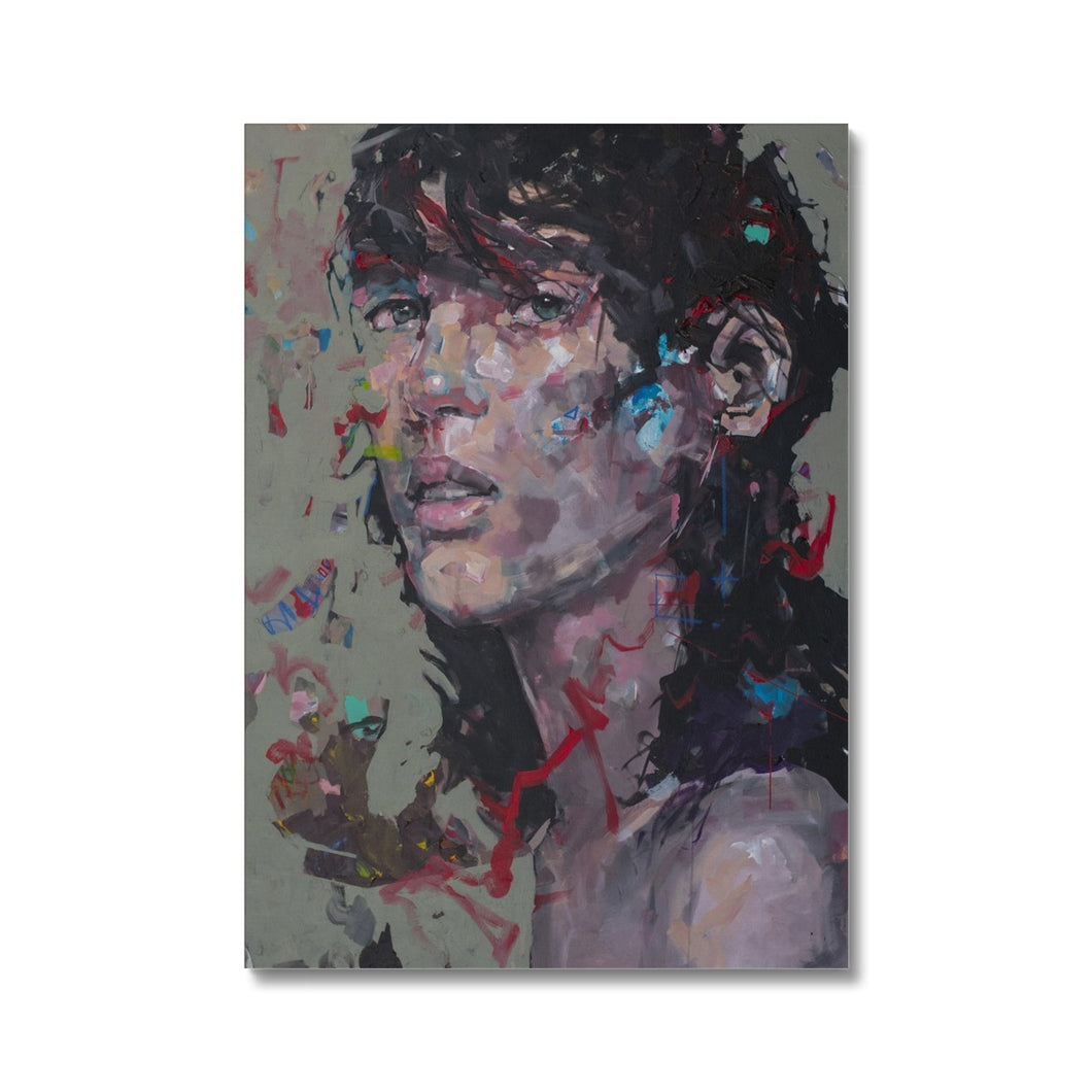 Lady 32 Portrait | Modern Art Canvas Prints UK | MGallery, Ready to take your gallery wall to the next level? MGallery is the best way to find your modern art canvas prints by talented artists in worldwide.-Fine art-mgallery