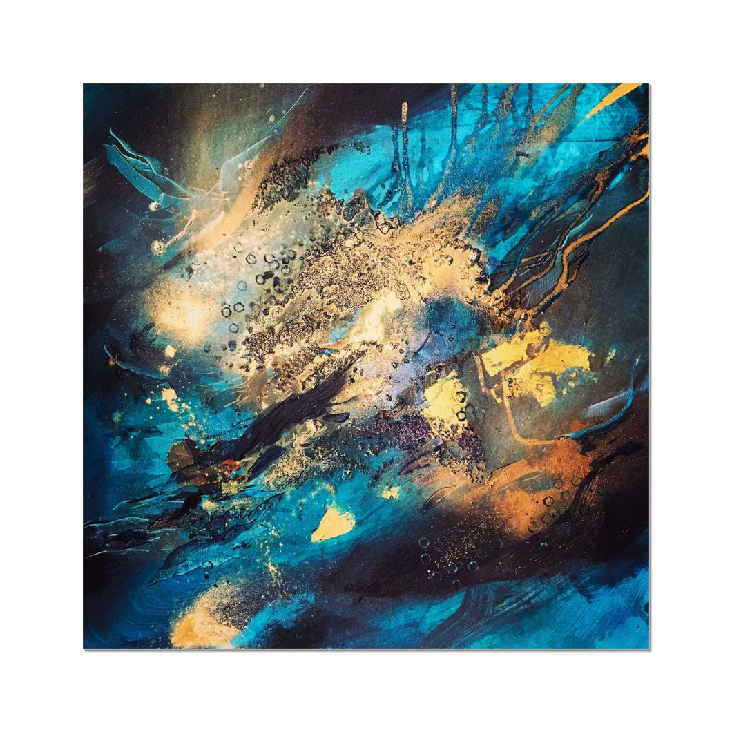 'Night ocean II' by Andrea Ehret Fine Art Print