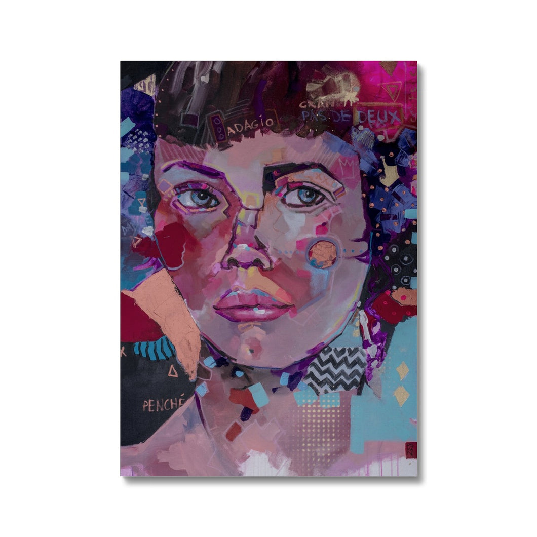 Lady 21 Portrait | High Quality Canvas Prints UK | MGallery, Our Collection of High Quality Canvas Wall Arts are available in a variety of sizes to suit your wall decoration. Delivered ready to hang.-Fine art-mgallery