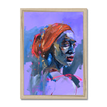 Load image into Gallery viewer, Lady 17 Portrait | Where to buy framed art | MGallery, Where to buy framed art? Shop for framed wall arts in UK online at MGallery. MGallery brings you amazing wall art prints uk for your living room.-Fine art-mgallery