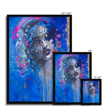 Load image into Gallery viewer, Lady 22 Portrait | Art Deco Framed Prints | MGallery, This Art Deco Framed Print is printed on premium fine art paper with high-quality wood frames of black, white or natural finish. -Fine art-mgallery
