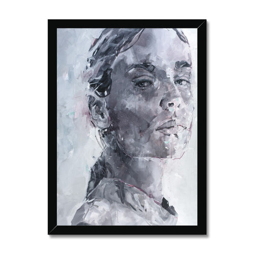 Lady 31 Portrait | Modern Wall Art UK | MGallery, Create your own gallery wall with Modern Wall Art UK! Decorate your walls with designer wall art prints online. Fast delivery!-Fine art-mgallery