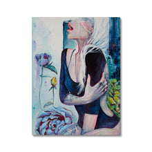 Load image into Gallery viewer, In Her Garden | Acrylic Portrait Art | Mgallery, Acrylic Portrait Arts for Sale online! Add a beautiful style to your home with our amazing Acrylic Portrait Paintings, all at best prices and worldwide shipping!-mgallery