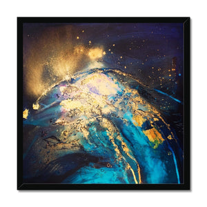 'Night ocean I' by Andrea Ehret Framed Print