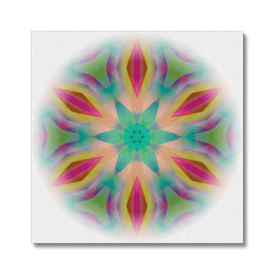 'Light Mandala 1' by Michael Banks Canvas