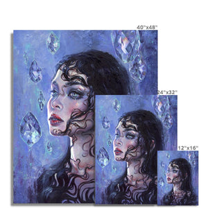 Phantom Rain | Acrylic Painting Portrait, Find your Best Acrylic Painting Portrait for Living room at MGallery. All Acrylic Portrait Fine Art Prints UK are professionally printed with high quality paper materials.-mgallery