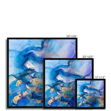 Load image into Gallery viewer, 'Turquoise Dream' by Andrea Ehret Framed Print