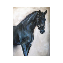 Load image into Gallery viewer, Dark_Horse 2 | Animal Print Wall Art | MGallery, This is the Best Place to Buy Animal Art Prints online! Browse the collection of high quality Animal Print Wall Art prints suitable for any occasion. -mgallery