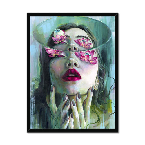 Refraction | Buy Framed Art Online UK | Mgallery, Buy Framed Art Online UK! Explore the full range of Living room Gallery Wall Art Prints at MGallery Art Store featuring the Woman Portrait. -mgallery