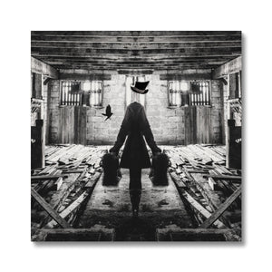 Luggage | Black and White Photo Canvas Art | MGallery, Black and White Photo Canvas Art Print for you! Find a wide range of elegant Dark Coloured Art Prints at MGallery. Delivered ready to hang.-mgallery