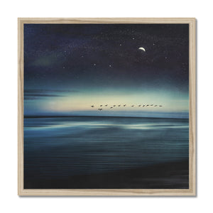 'Currents' by Dirk Wüstenhagen Framed Print