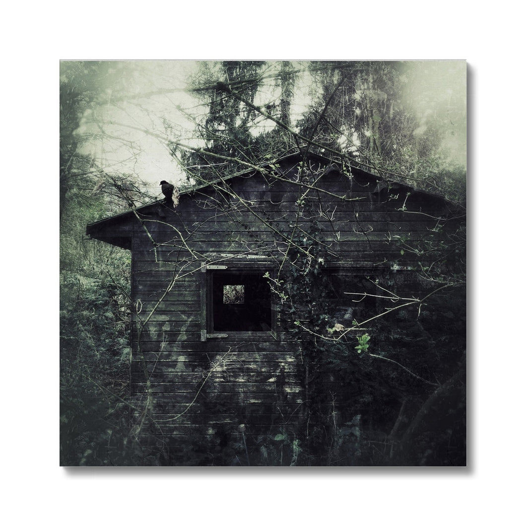 'Abandoned Hut' by  Dirk Wüstenhagen Canvas
