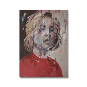 Lady 27 Portrait | Canvas Prints for Living Room | MGallery, Browse the collection of Beautiful Canvas Prints for Living Room, bed room or the office room at MGallery! Fast delivery worldwide.-Fine art-mgallery