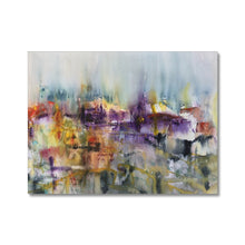 Load image into Gallery viewer, Urban Landscape | Painting Abstract Art on Canvas | MGallery, Style your spaces with Best Painting Abstract Art on Canvas. Buy Bright Colourful Abstract Arts from MGallery. Get Inspired with Amazing London Art! -mgallery