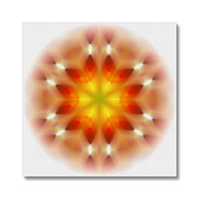 Load image into Gallery viewer, 'Light Mandala 3' by Michael Banks Canvas