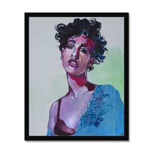 Lady 28 Portrait | Framed Art Prints Near Me | MGallery, Bring a luxury appearance to your home with High Quality Framed Artwork with variety of sizes! Shop our huge selection of beautiful framed art prints.-Fine art-mgallery