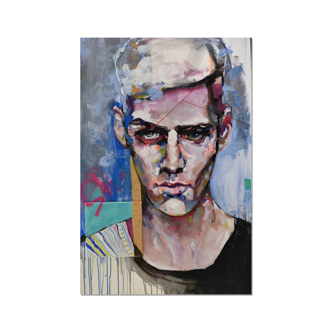Man 1 Portrait | Fine Art Prints for Sale | MGallery, Fine Art Prints for Sale at MGallery! Decorate your walls with Designer Wall Art Prints Online. Fast Worldwide Delivery Available! -Fine art-mgallery
