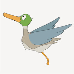 Duck wall decals for children's decor - from Little Grippers