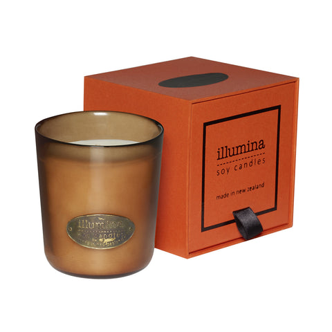 Amber Soy Candle from Illumina