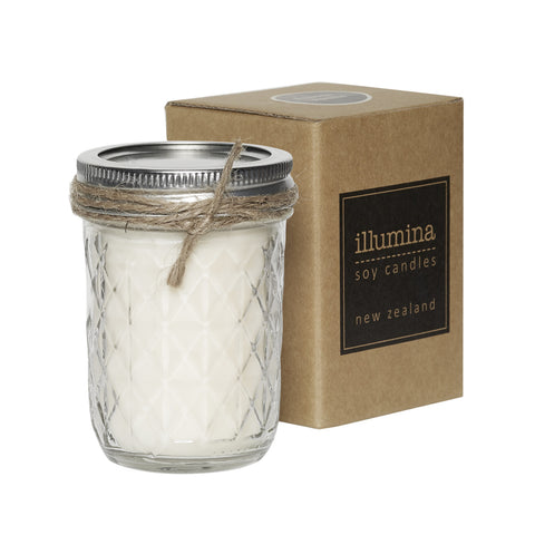 Quilted Jar Soy Candle 200ml by Illumina