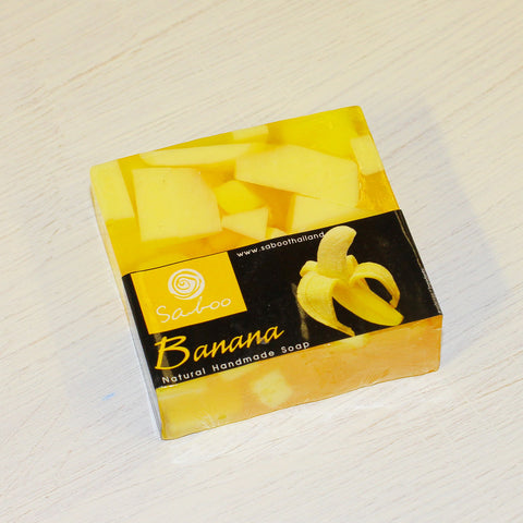 Banana Soap by Saboo