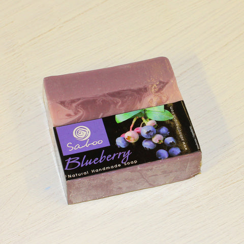 Blueberry Soap by Saboo TC Bangkok