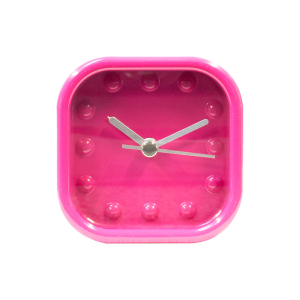 Cube Clock - Shock Pink from TC Bangkok