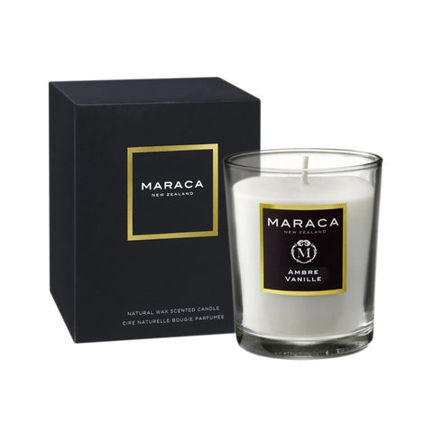 Maraca Ambre Vanille Natural Wax Scented Candle