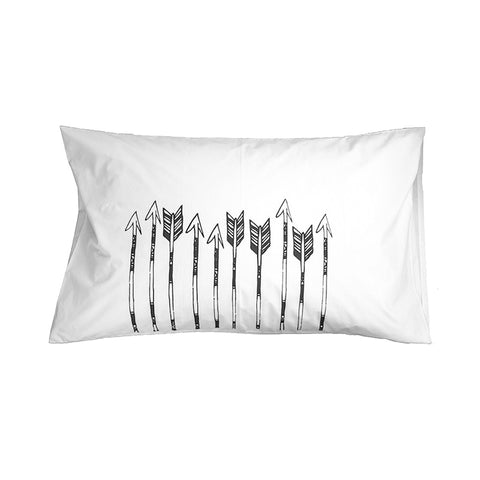 Shooting Arrows Pillowslip from Elephant and Bird