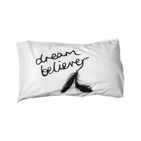 Dream Believer Pillowslip by Elephant and Bird
