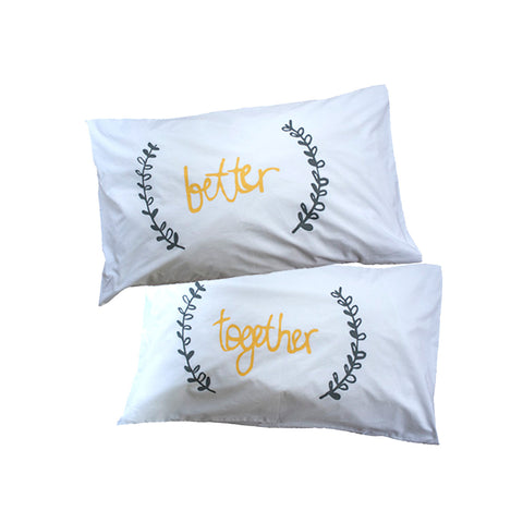 Better Together Pillowslip From Elephant and Bird