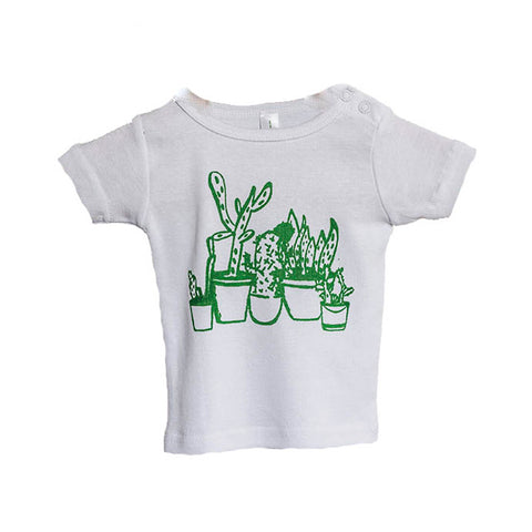 Cactus Cluster Baby T-Shirt by Elephant and Bird