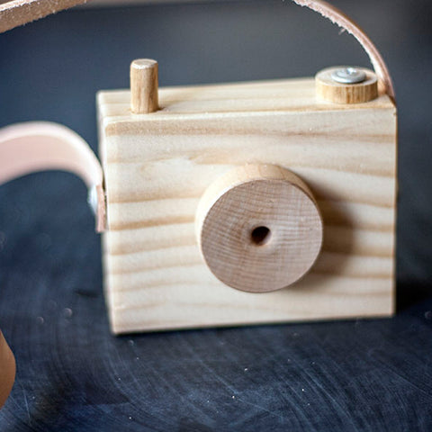 Wooden Toy Camera from Elephant & Bird