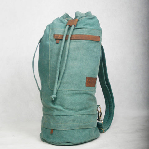 Green Duffle Bag from ARCA Apparel