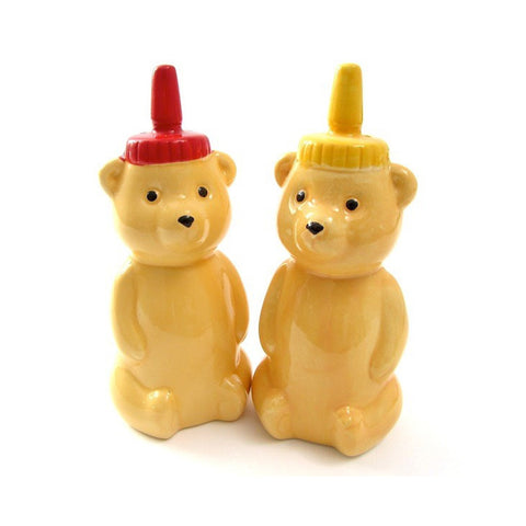 Honey Bear Salt And Pepper Shaker from Urbin Outfiters