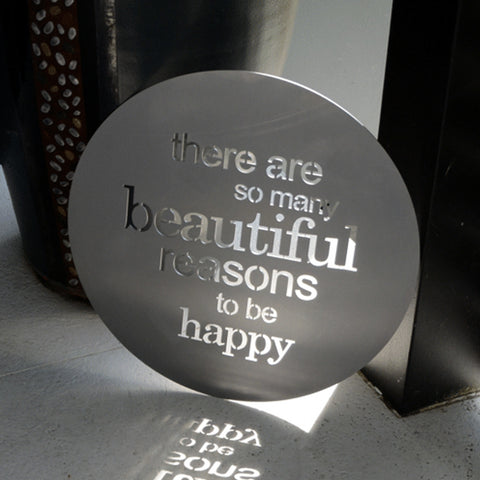 Beautiful Reasons - Steel Art From Lisa Sarah