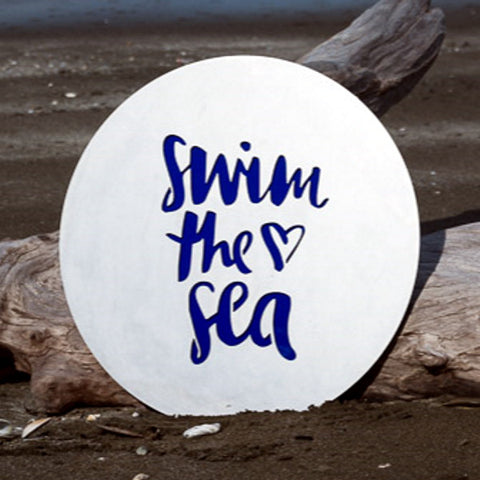 Swim the Sea - Steel Art from Lisa Sarah