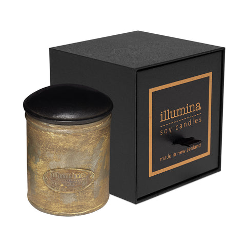 Classic 'Leather Look' Spice Tin Candle