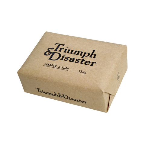 Shearers Soap by Triumph & Disaster