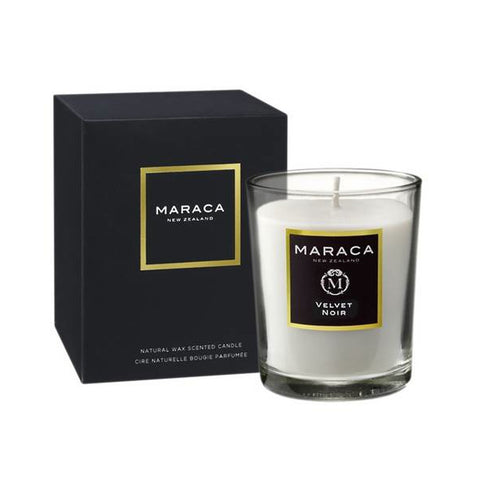 Maraca Velvet Noir Natural Wax Scented Candle