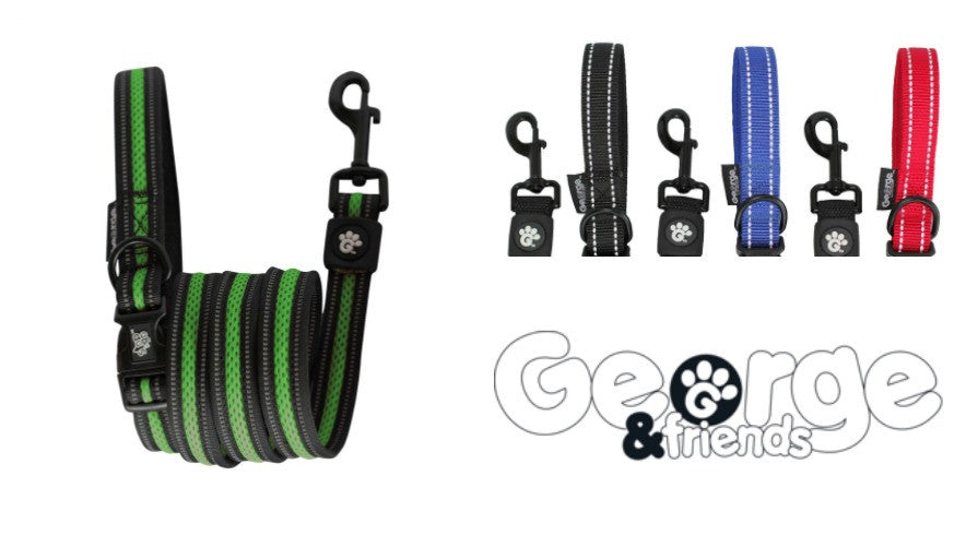 Discover the world's best dog leads (we reckon!) from our friends at George & Friends