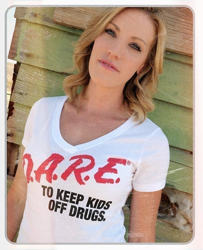 (BOGO) - D.A.R.E. x MatchBack Womens V-Neck (3 Color Options)