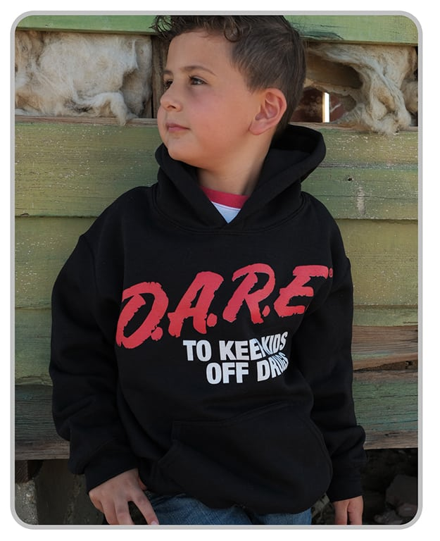 D.A.R.E. x MatchBack Youth Hoodie
