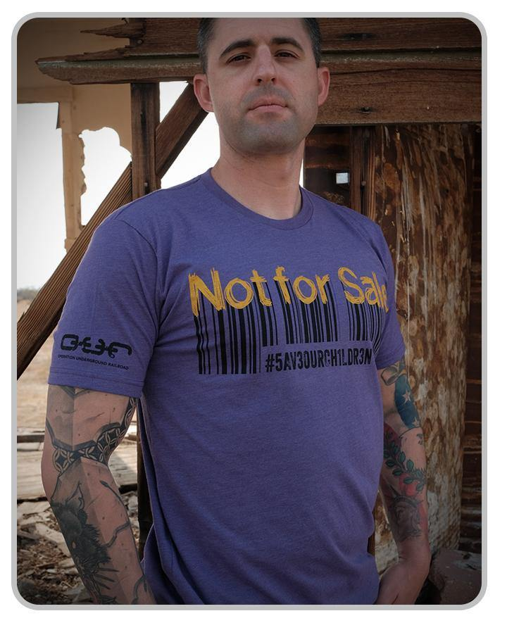 Not For Sale - Adult Crew - Purple
