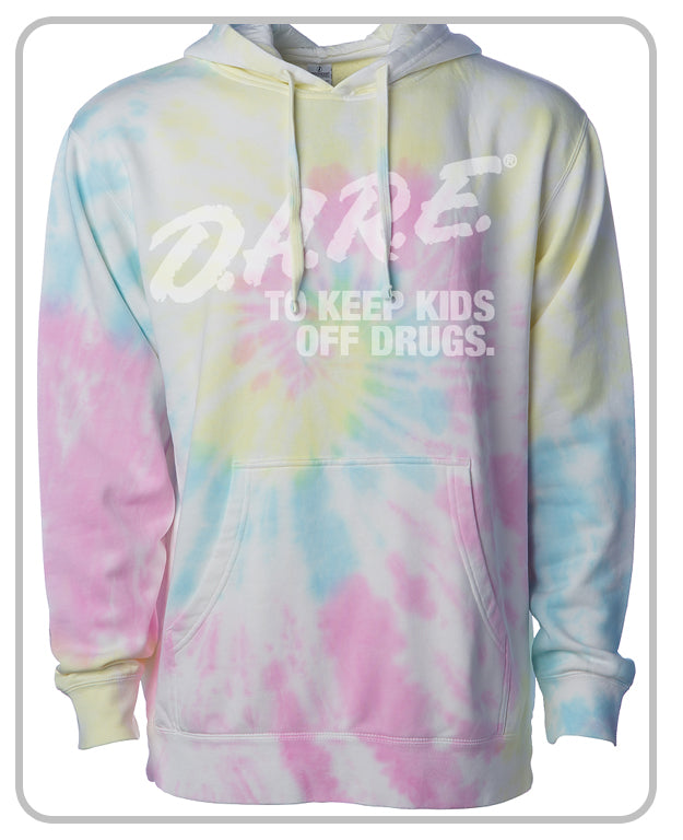 D.A.R.E. Tie Dyed (Sunset) Hoodie - Unisex
